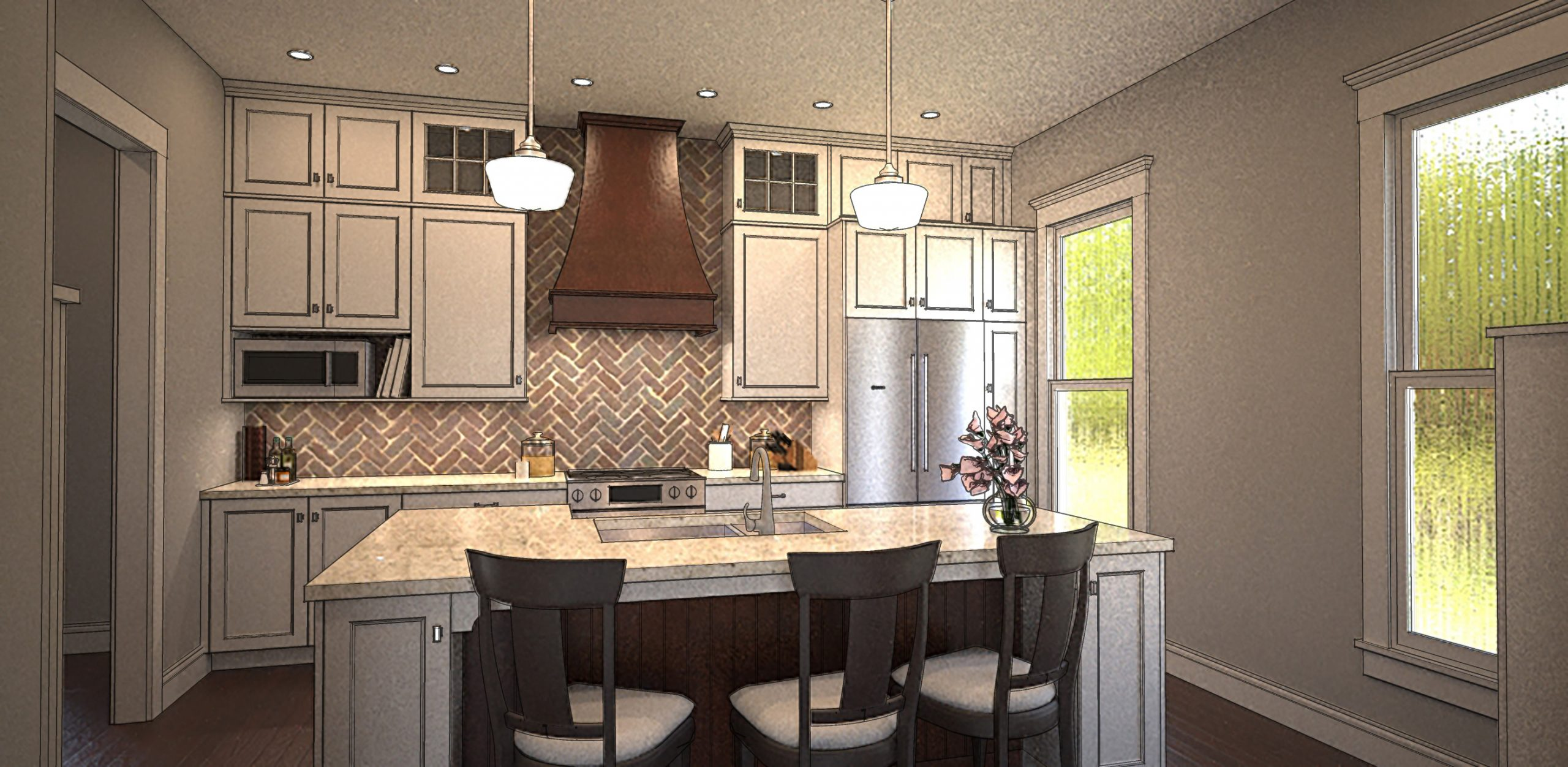 Read more about the article Kitchen for Kristen Fish